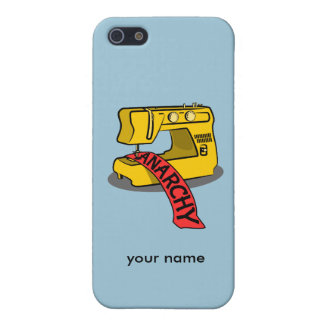 Anarchy Sewing Machine Case For The iPhone 5