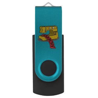 Anarchy Sewing Machine Swivel USB 2.0 Flash Drive