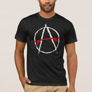 Anarchy skate design T-Shirt