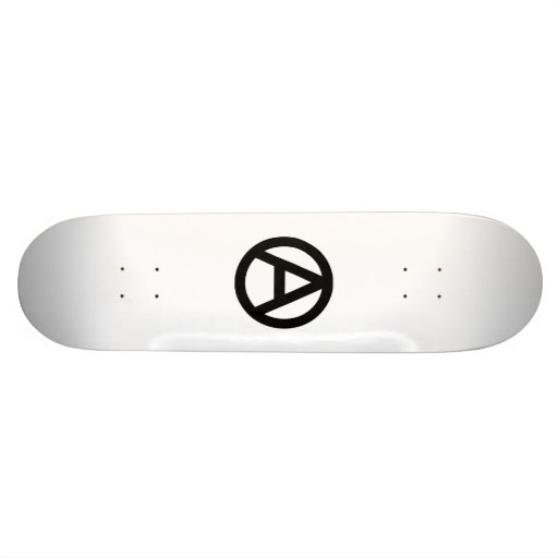 Anarchy skateboard