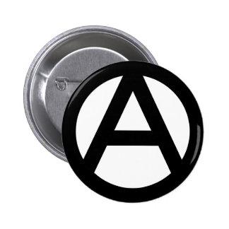 Anarchy Symbol 6 Cm Round Badge