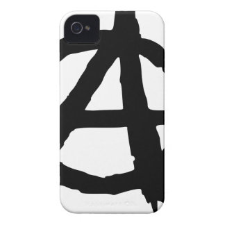 Anarchy Symbol Case-Mate iPhone 4 Cases
