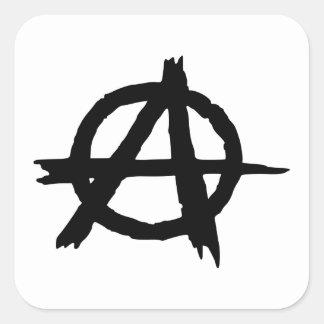 Anarchy Symbol Square Sticker
