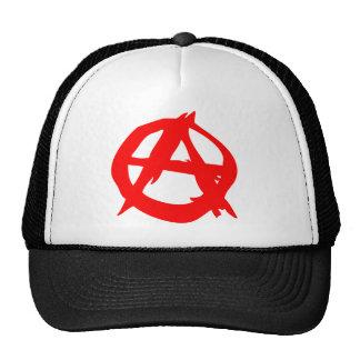 Anarchy Symbol Trucker Cap