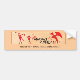 Anasazi Comics Sticker Bumper Sticker