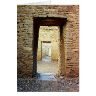 Anasazi Doorway Greeting Card