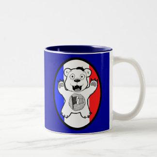 "Anastasio ""Antoine"" French Teddy Bear of Terror Coffee Mug"
