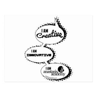 "Anastasis ""Talk"" Design Postcard"