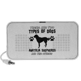 Anatolian Shepherd dog designs Laptop Speaker
