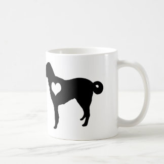 Anatolian Shepherd Dog Heart Mug
