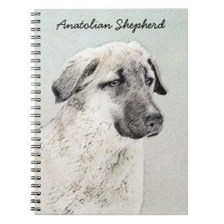 Anatolian Shepherd Notebooks