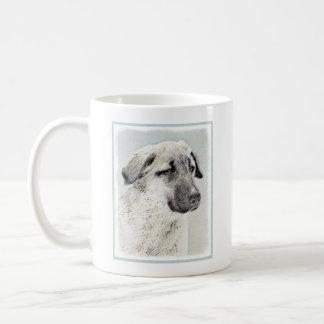 Anatolian Shepherd Painting - Original Dog Art Coffee Mug