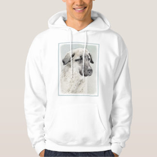 Anatolian Shepherd Painting - Original Dog Art Hoodie