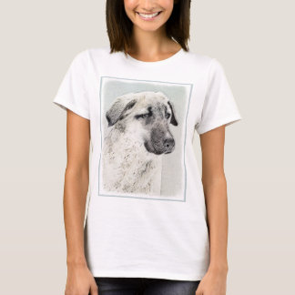 Anatolian Shepherd Painting - Original Dog Art T-Shirt