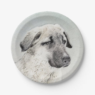 Anatolian Shepherd Paper Plate