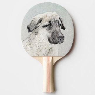 Anatolian Shepherd Ping Pong Paddle