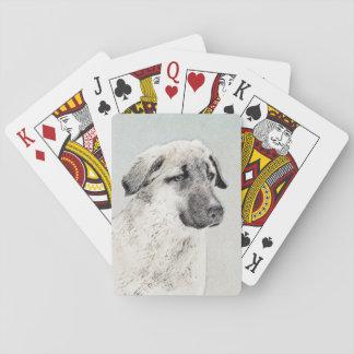 Anatolian Shepherd Playing Cards