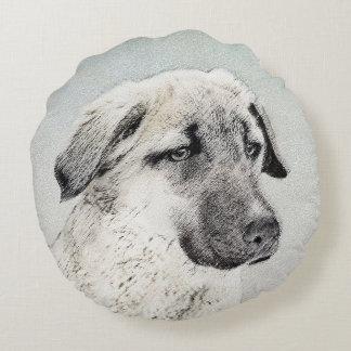Anatolian Shepherd Round Cushion