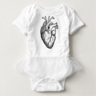 Anatomical Heart Baby Bodysuit