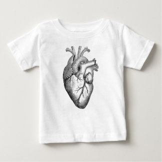 Anatomical Heart Baby T-Shirt