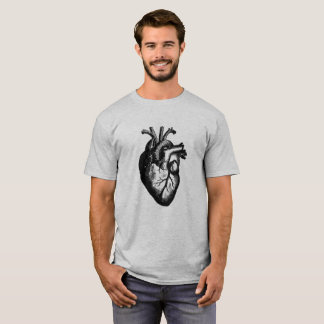 Anatomical Heart Cool Funny T-Shirt