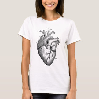 Anatomy-Heart-Images-Vintage T-Shirt