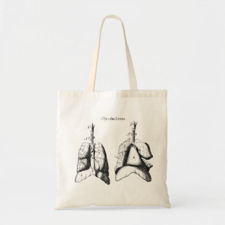 Anatomy Lungs Tote Bag