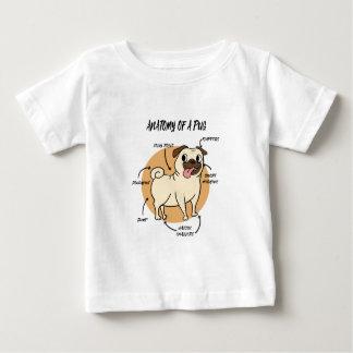 ANATOMY OF A PUG BABY T-Shirt