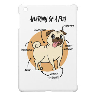 ANATOMY OF A PUG COVER FOR THE iPad MINI
