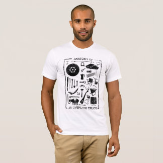 Anatomy of an Overland Truck T-Shirt
