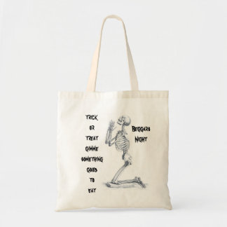 Anatomy of the Bones trick or treat tote Budget Tote Bag