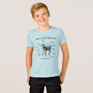 Anatomy of the Cashmere Goat - Boy's Tee