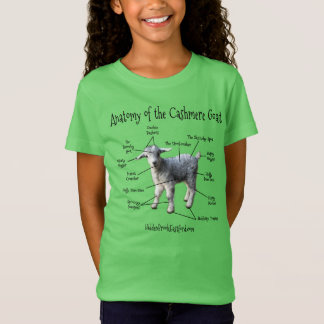 Anatomy of the Cashmere Goat - Girl's Tee