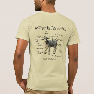 Anatomy of the Cashmere Goat - Men's Tee