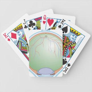 Anatomy of the Human Eye Bicycle Poker Cards