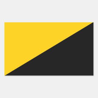 AnCap Flag Rectangular Sticker