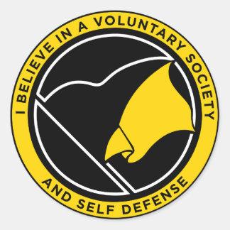 AnCap Voluntaryist Stickers