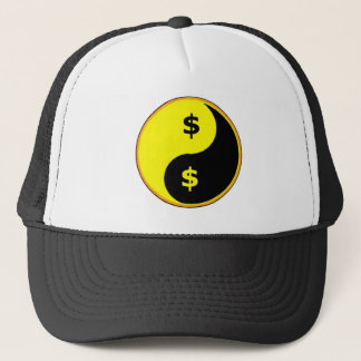Ancap Yin Yang Trucker Hat
