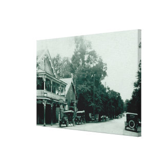 Ancaster Village Vintage Canvas Print