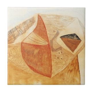 Ancestral Nature by Vajda Lajos Small Square Tile