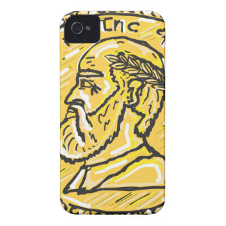Anchient Coin Sketch Case-Mate iPhone 4 Case
