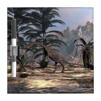 Anchisaurus dinosaur - 3D render Dry Erase Board