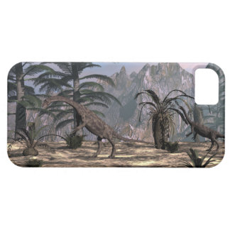 Anchisaurus dinosaurs - 3D render Barely There iPhone 5 Case