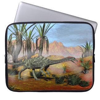 Anchisaurus dinosaurs - 3D render Laptop Sleeve