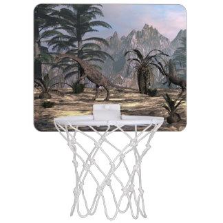 Anchisaurus dinosaurs - 3D render Mini Basketball Hoop