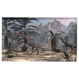 Anchisaurus dinosaurs - 3D render Table Card Holder