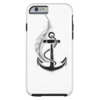 Anchor and Feather case Tough iPhone 6 Case