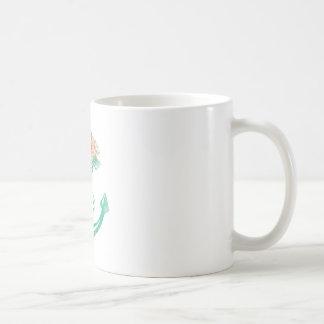 Anchor and Roses Coffee Mug