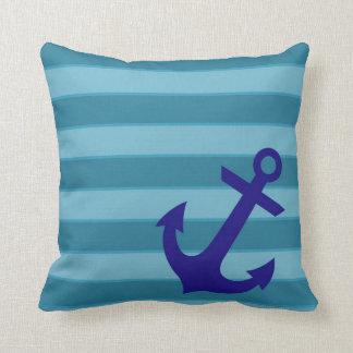 Anchor and Stripes Cushion