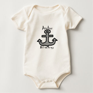 Anchor Baby Baby Bodysuit